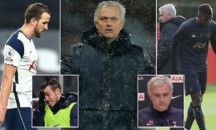 Mourinho Klaim Perilakunya Berubah setelah Pimpin Tottenham Hotspurs