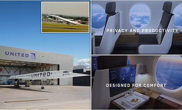 Concorde Baru! United Airlines Umumkan Beli 15 Pesawat Supersonik