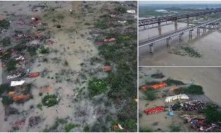 Jenazah Korban Covid-19 India Bermunculan di Sungai Gangga