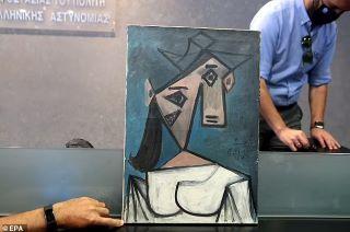 Lukisan Picasso Ditemukan Kembali Setelah 9 Tahun Hilang