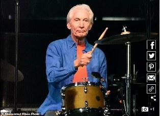 `Drummer Hebat`: Jagat Rock n`Roll Berduka bagi Charlie Watts