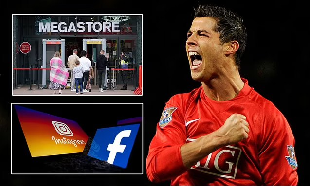 MU Genjot `Merchandise` dari Setengah Miliar `Followers` Ronaldo di Medsos