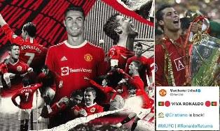 """""""Dia Akhirnya Pulang"""": Manchester United Tuntaskan Transfer Cristiano Ronaldo"""